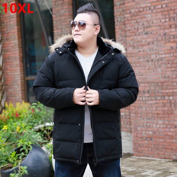 jaqueta puffer masculina plus size