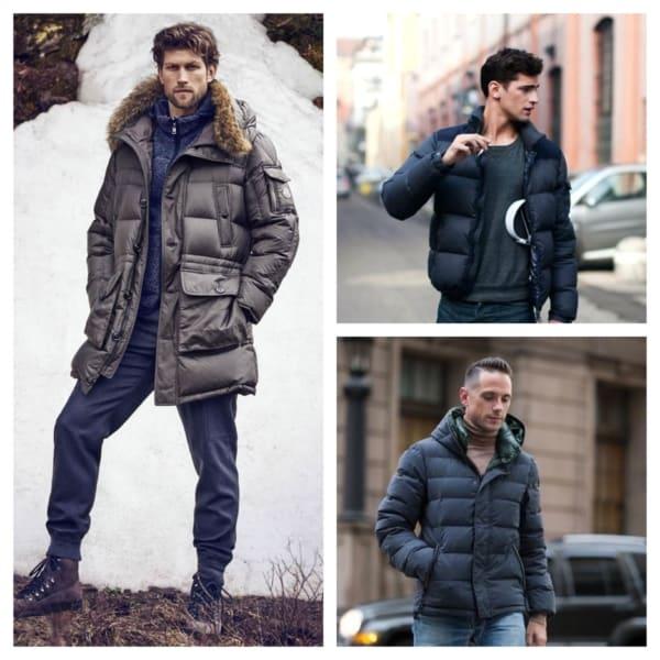 jaqueta puffer masculina