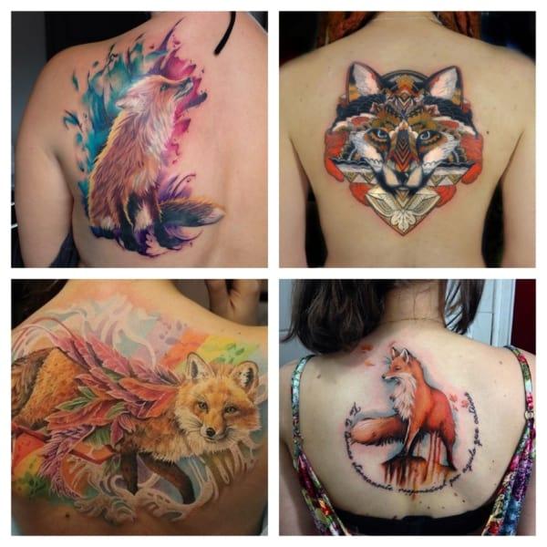 Tatuagem de raposa – 45 inspirações lindíssimas e seu significado!