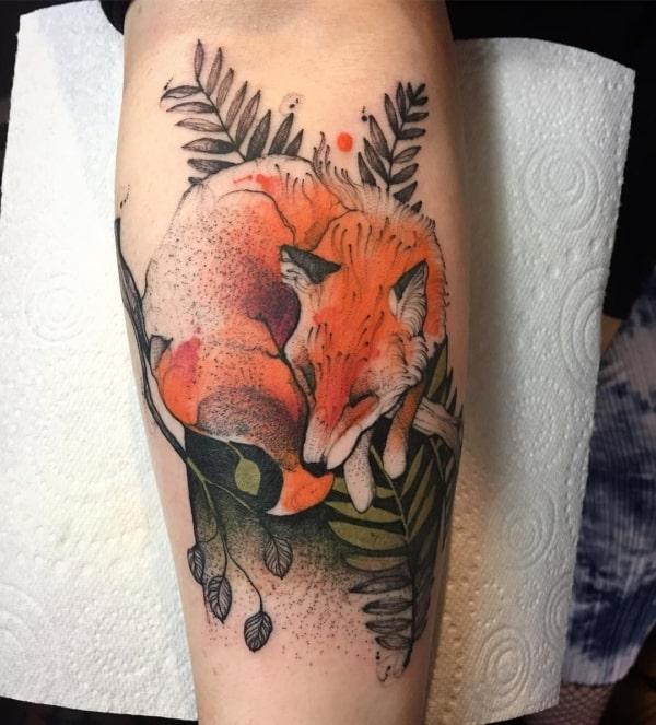 tattoo de raposa