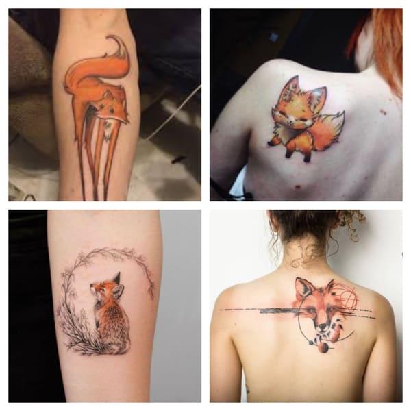 tatuagem de raposa feminina 1