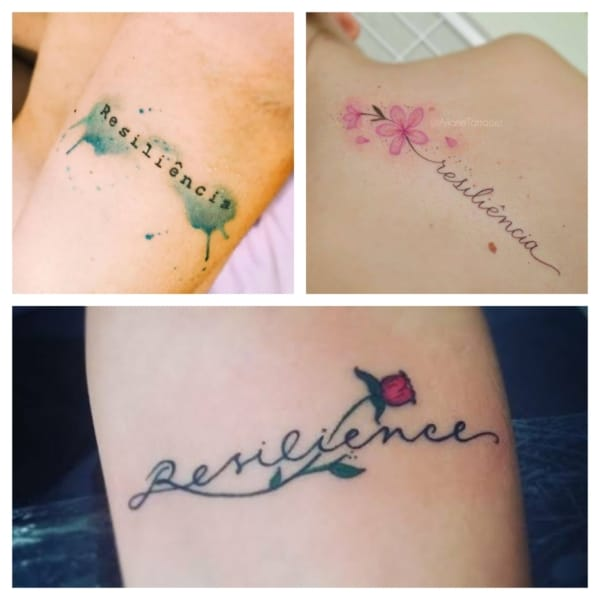 tatuagem resiliência