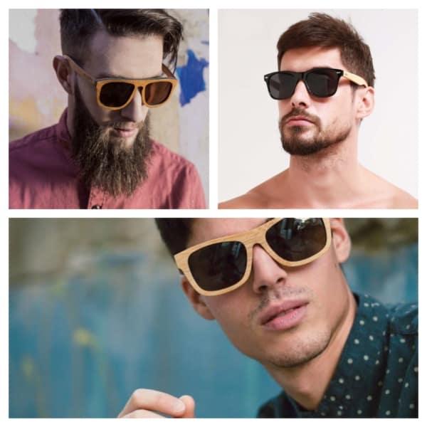 óculos de madeira masculino ideias 1