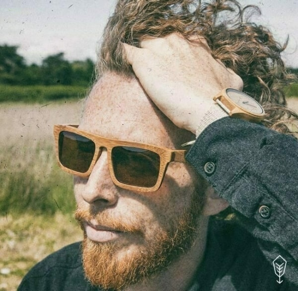 óculos de madeira masculino vintage