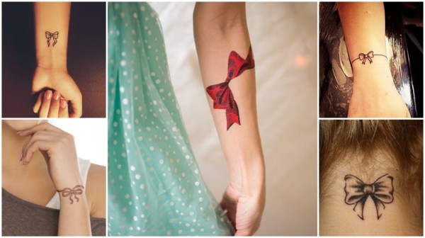 Tatuagem de Laço – Significados + 42 Ideias Incríveis e Apaixonantes!