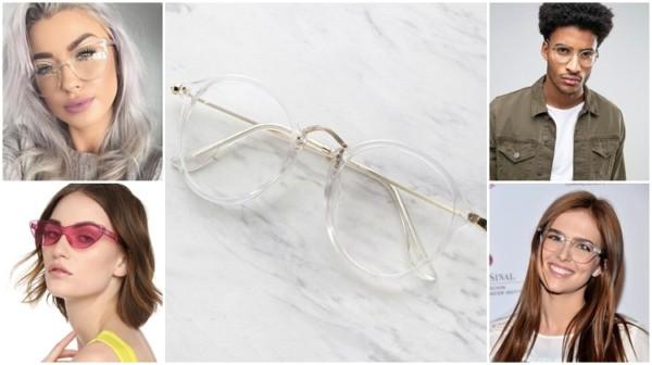 modelos de óculos transparente