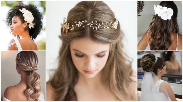 Penteados para noivas: 74 inspirações para você se apaixonar!