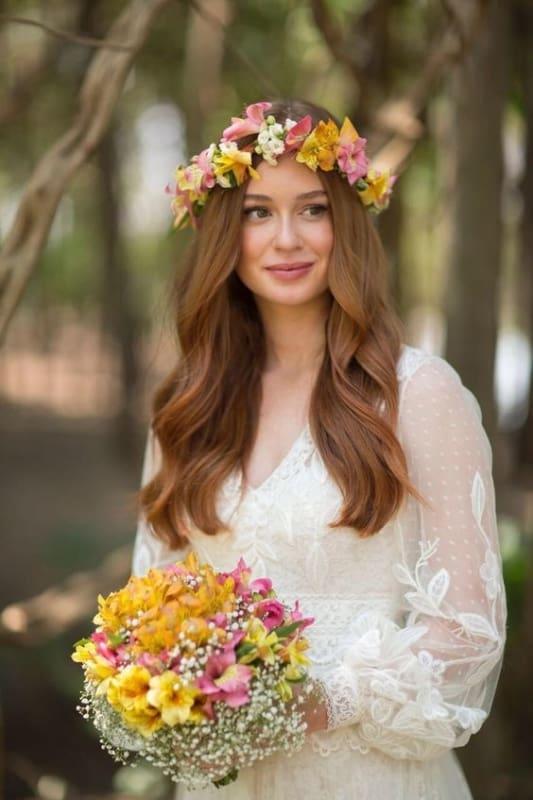 penteado de noiva Marina Ruy Barbosa