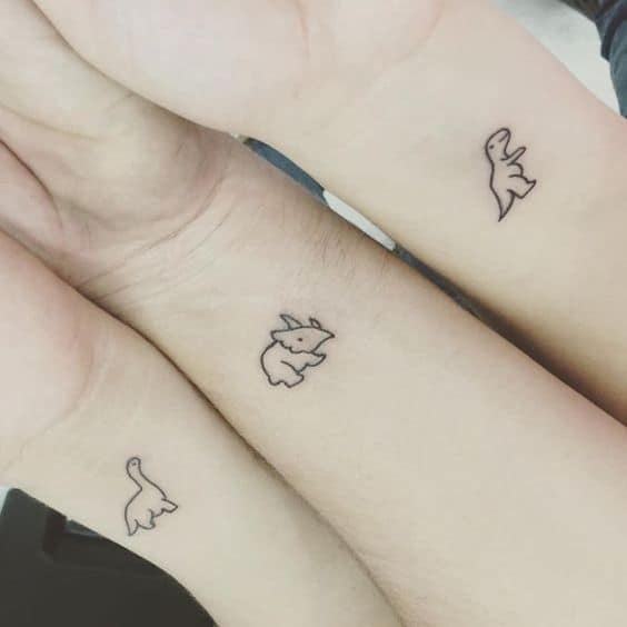 tatuagem divertida amizade
