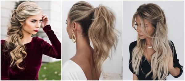 penteados para convidada de casamento com cabelo longo
