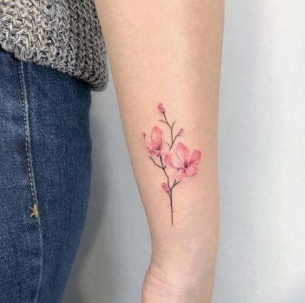 tatuagem oriental no braço