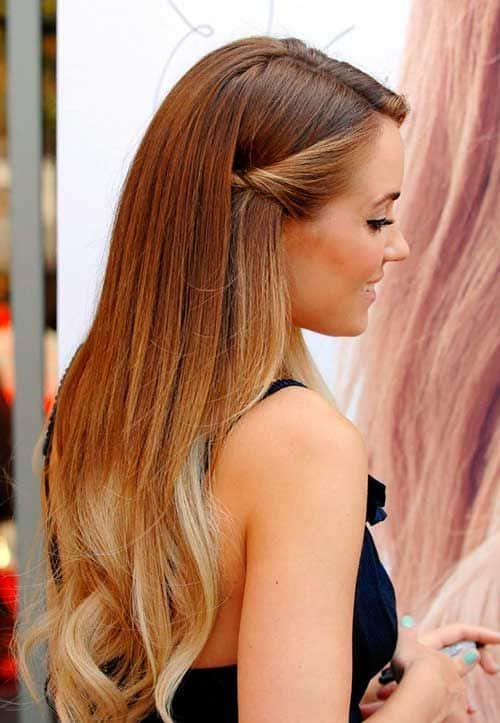 penteado simples e fácil