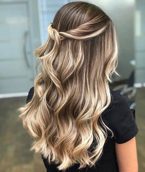 penteado semi preso simples de fazer