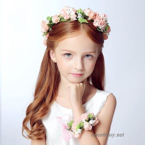 penteado simples para cabelo liso infantil