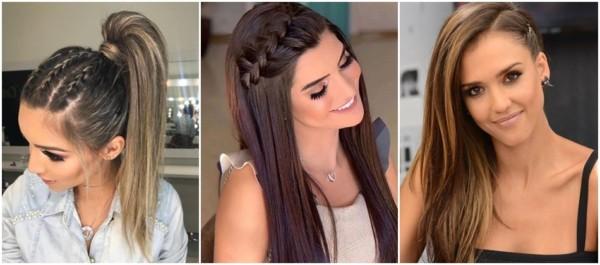 penteados para convidada de casamento com cabelo liso