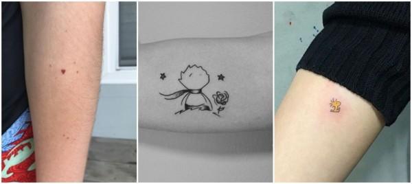 tatuagens fofas no braço