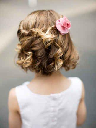 penteado infantil simples para cabelo curto
