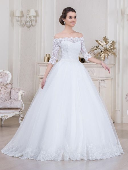 vestido de noiva princesa com renda