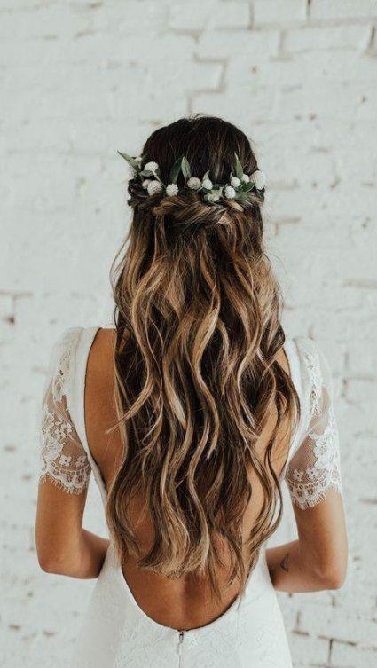 penteado solto para casamento na praia