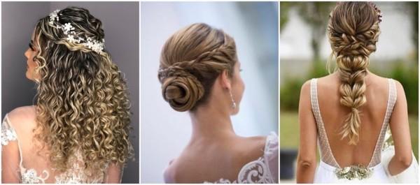 penteados lindos para noivas