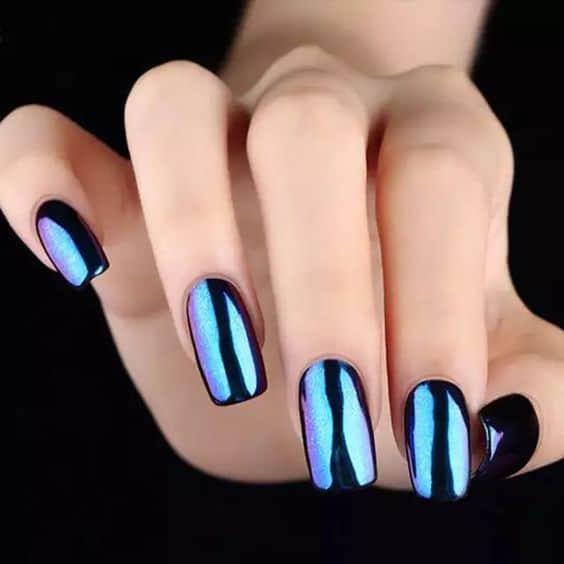 nail art holográfica