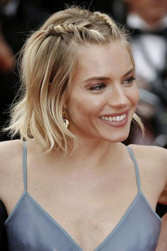 penteado simples e fácil para cabelo curto