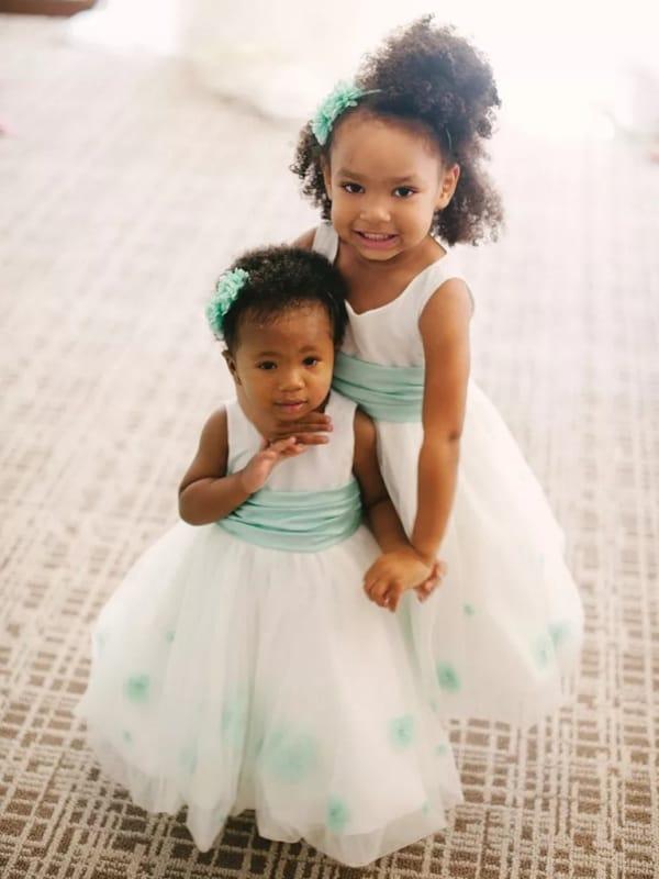 penteado infantil para casamento