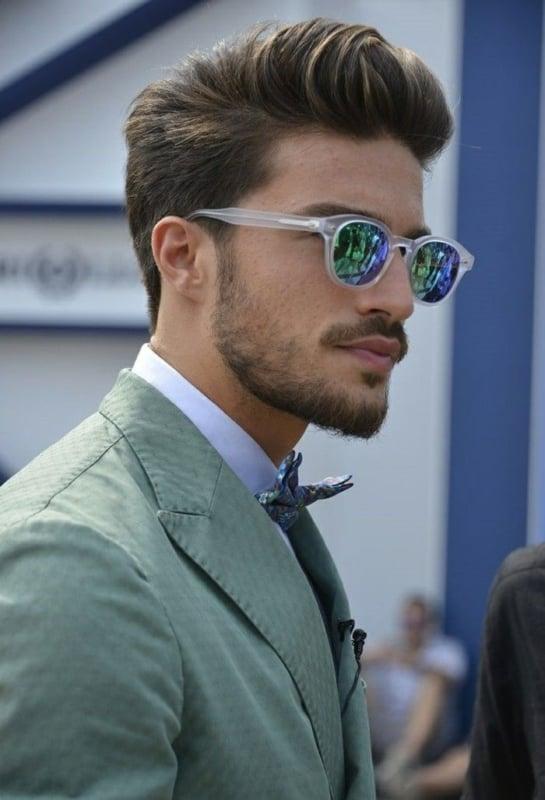 como usar óculos sol espelhado masculino