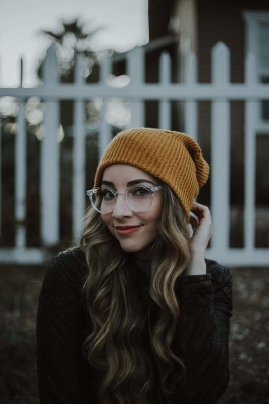 look com óculos de grau redondo