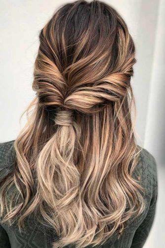 penteado simples para convidada de casamento