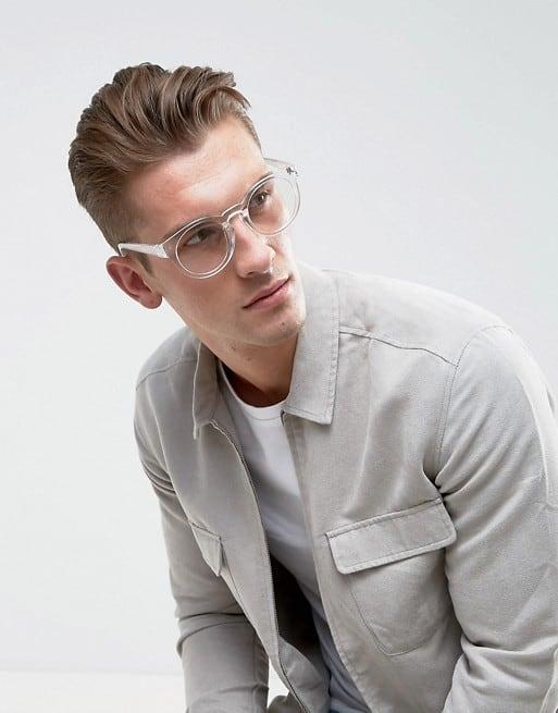 óculos redondo para homem