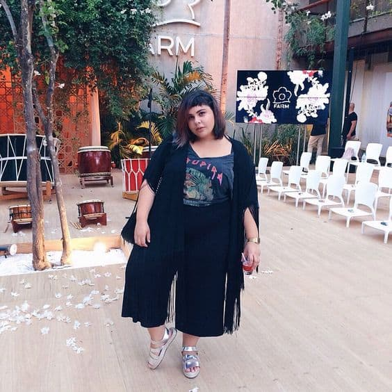 look plus size moderno