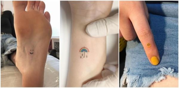 tatuagens fofas e pequenas