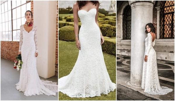 vestido de noiva de renda italiana