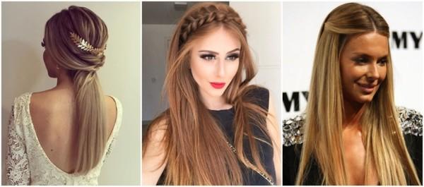 penteados lindos para cabelos lisos