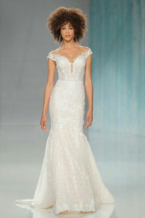 vestido sereia moderno para noiva