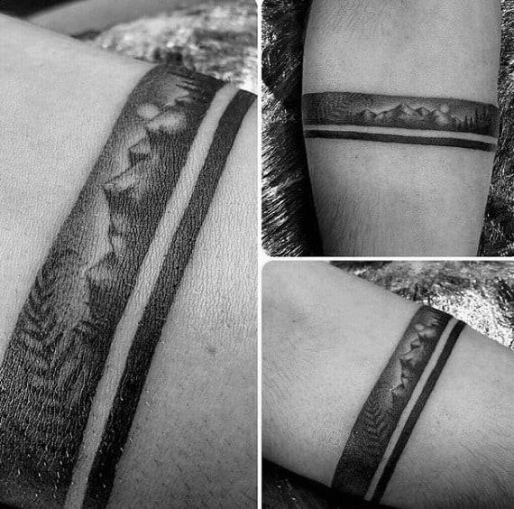 Bracelete com desenho