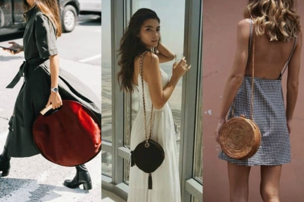 Inspiração de looks com bolsas redondas
