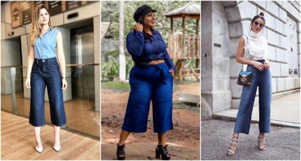 Pantacourt jeans – Como usar e combinar? + 60 looks lindíssimos!