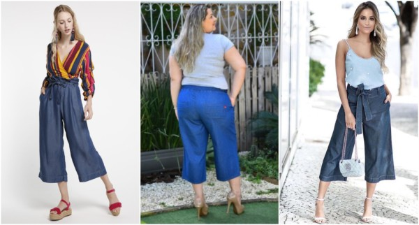 Looks lindos com pantacourt jeans