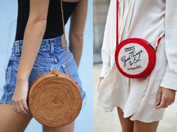 Modelos de bolsas redondas estilosas