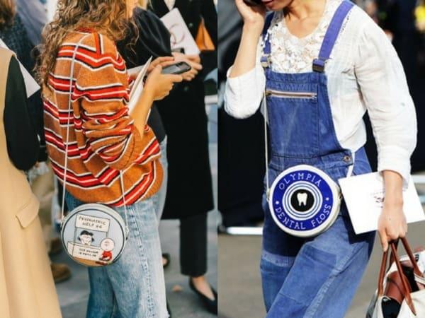 Modelos divertidos de bolsas redondas