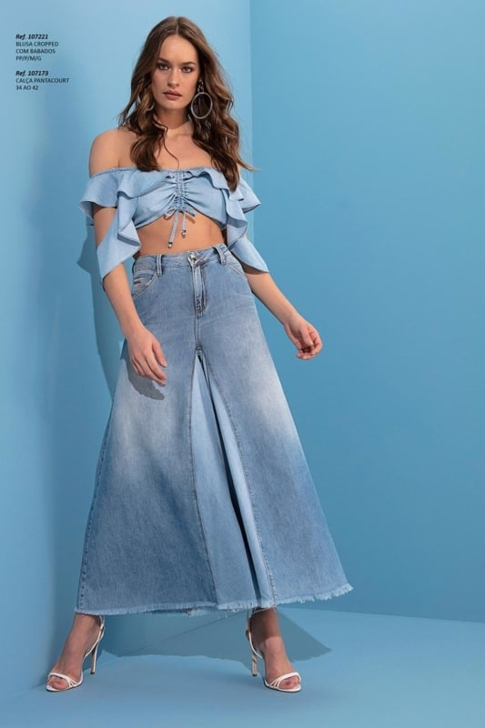 Pantacourt e cropped jeans