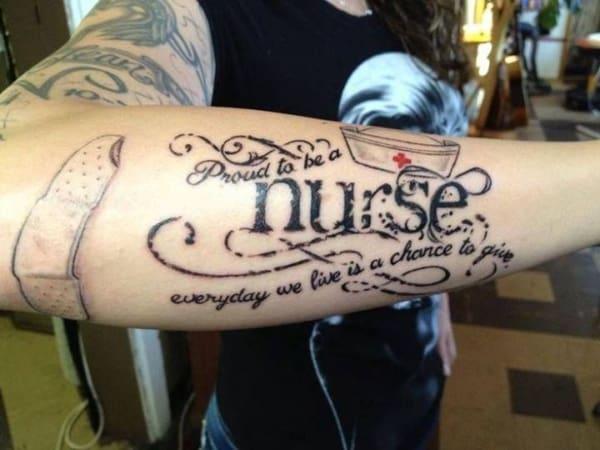 Tattoo de enfermagem