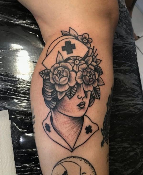Tattoo de enfermeira
