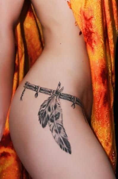 40 Tatuagens Sexy Para Se Apaixonar Ideias Femininas E