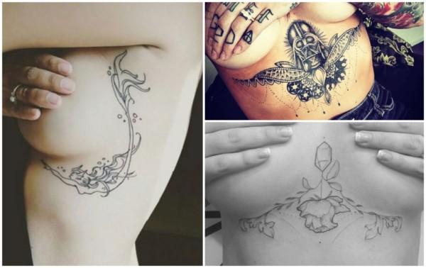 Tatuagem embaixo dos seios 2