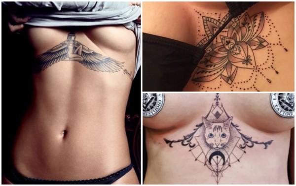 Tatuagem embaixo dos seios 3