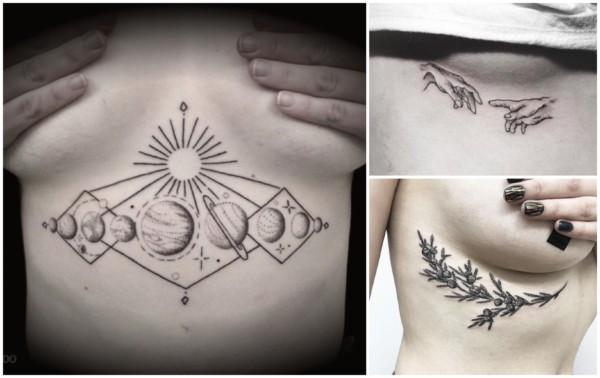 Tatuagem embaixo dos seios