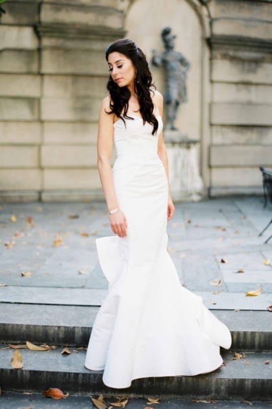 Vestido de noiva sereia para noiva minimalista